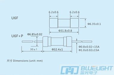 U6F系列/Φ6.35X32玻璃管快断安徽快3形态走势图(图3)