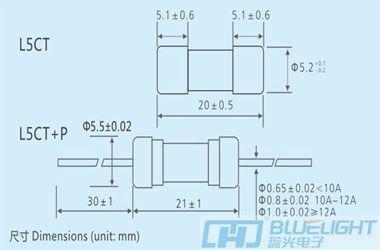 L5CT系列/Φ5X20陶瓷管安徽快3形态走势图(高分断延时)(图3)